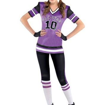 Teen Girls All Star Cutie Football Costume- Party City