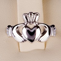 Claddagh Ring Sterling Silver