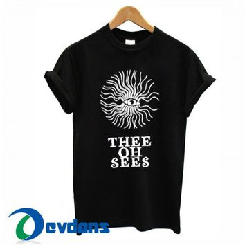 Thee Oh Sees T Shirt Women And Men Size S To 3XL | Thee Oh Sees T Shirt