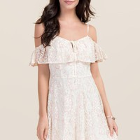 Skylar Cold Shoulder A-line Dress