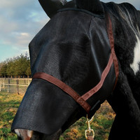 Kensington Natural Look CatchMask Fly Mask with Nose