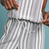 Cloth & Stone Striped Romper