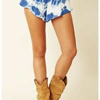 Blu Moon - Ruffle Shorts