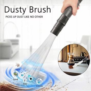 Dust Cleaner Household Straw Tubes Dust Brush Remover Portable Universal Vacuum Tools Attachment Dirt Clean