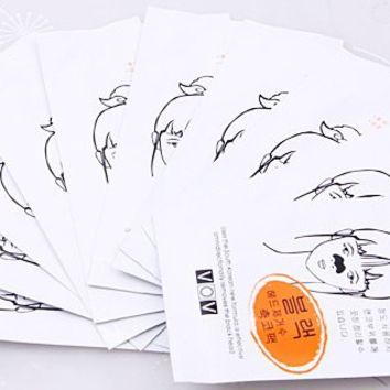 Brand New 10pcs Blackhead Drawing Nose Paste/Pack for Ladies
