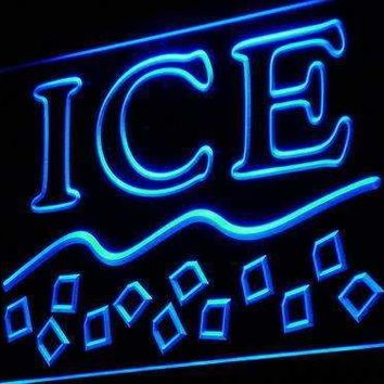 Ice Bags LED Neon Light Sign