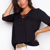 Newsworthy Top - Black