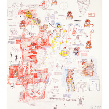 Untitled Giclee Print by Jean-Michel Basquiat at Art.com