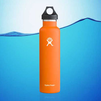 Hydro Flask 24 Oz Standard Mouth Insulated Water Bottle Orange