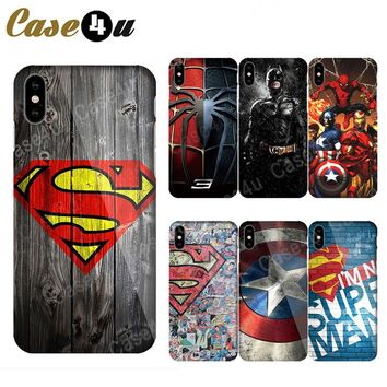 Superhero Deadpool Ironman Phone Cases for iPhone X 8 7 Plus 6 6 eba8dfb5716a