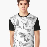 """Hummingbirds "" Women's Chiffon Top by katerinamk 