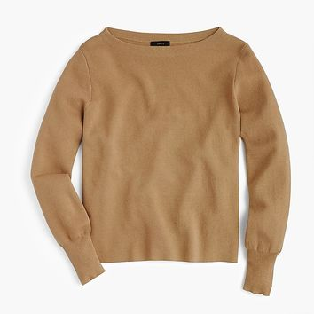 Women's Subtle Boatneck Sweater - Women's Sweaters | J.Crew
