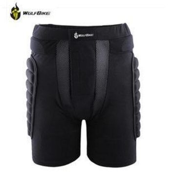 WOSAWE Hip Padded Shorts Sports Skating Snowboarding Skiing Protective  EVA Paded Armor Anti-crush Protective Hips Short BC305