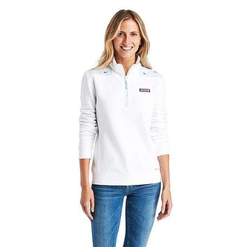 Classic Whale Embroidered Oxford Shep Shirt by Vineyard Vines