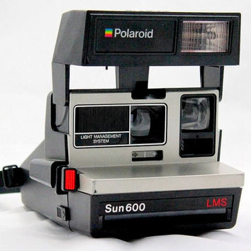 TESTED Polaroid Sun LMS 600 Camera | Working Instant Film Photography Vintage Retro
