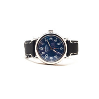 The Runwell 41mm Watch in Blue Dial/Black Strap