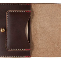 Archival Clothing Flap Wallet