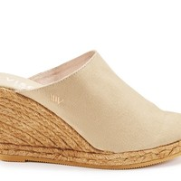 Estreta Canvas Clogs - Beige