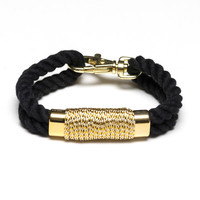 Tremont - Black/Metallic Gold