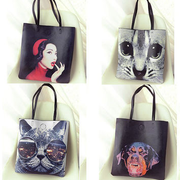 Autumn Cats One Shoulder Bags Ladies Shoulder Bags [6582472711]