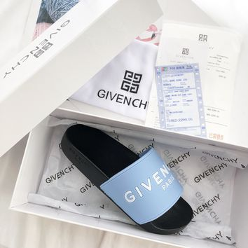 Givenchy Print slippers