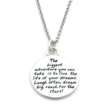 Dream Braille Necklace-B08