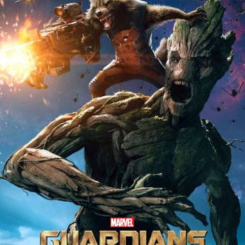 Guardians Of The Galaxy Movie Poster 11inx17in Mini Poster