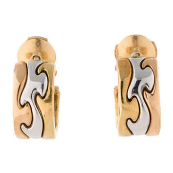 Georg Jensen Puzzle Earrings