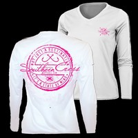 Southern Cross Apparel - Product Details | Fishing Stamp | Long Sleeve | High Performance | Southern Cross Apparel