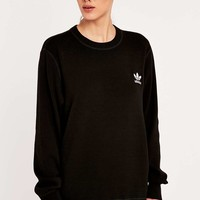 adidas Originals HYKE Black Jumper - Urban Outfitters