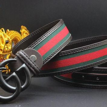 Gucci Belt Men Women Fashion Belts 504142