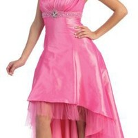 Strapless Prom Dress Jr Long Gown #2576