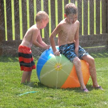 Beach ball sprinkler  Inflatable Water
