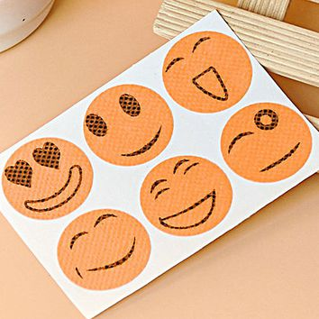 TOP 10 Packs Cute Mosquito Repellent Patch Smiling Face Type Drive Midge Mosquito Killer Anti Mosquito Repeller Sticker