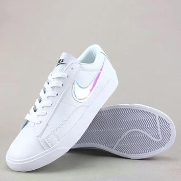 Trendsetter Wmns Nike Blazer Low Le Fashion Casual Low-Top Old Skool Shoes 72030477f7
