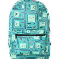 Adventure Time BMO Print Backpack