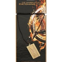 Hunger Games Catching Fire Peeta's Necklace Cord with Pendant
