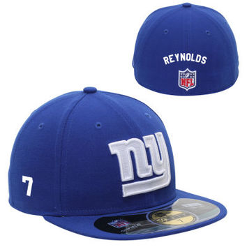 New Era New York Giants Men's Customized On-Field 59FIFTY Football Structured Fitted Hat