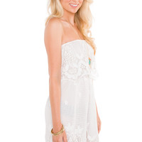 Celia Lace Dress - White