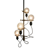 1STDIBS.COM - InstallationsAntiques - Installations Antiques - lab ring chandelier