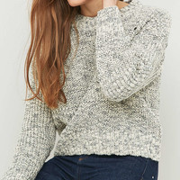 BDG Mixed Ribbed Fisherman Jumper - Urban Outfitters