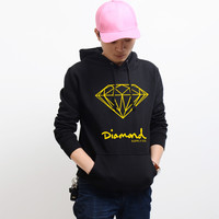 Diamond Supply Co Black Hot Fashion Men's Spring Autumn Hoodie Pullover Streetwear Hooded Sweatshirt