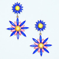 Cutting Edge Floral Earrings