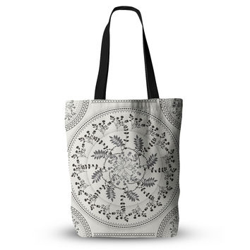 "Famenxt "" Magical Vibes Boho Madellion"" Black Pattern Everything Tote Bag"