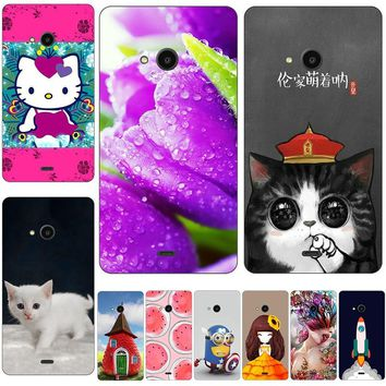 76825fe2750 60 Styles Hello Kitty Cat Phone Case For Microsoft Lumia 540 Dua