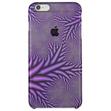 fractal colored abstract clear iPhone 6 plus case