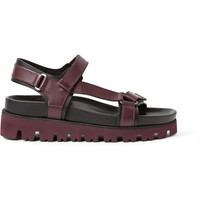 Valentino - Two-Tone Leather Sandals | MR PORTER