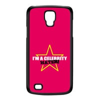 Celebrity Hater Black Hard Plastic Case for Galaxy S4 Active by Chargrilled