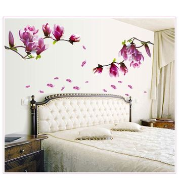 3D Vinyl Flower Wall Sticker