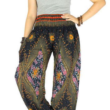 Palazzo pants Harem pants Elephant pants Thai pants Hippie clothes Hippie pants Gypsy pants  Elephant clothes